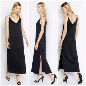 Equipment Femme Racquel Silk Slip Maxi Dress